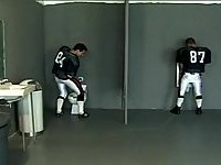 Football Player Glory Hole Sucking In A Toilet