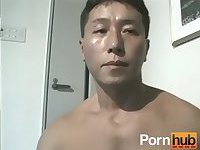 Asian Guy Enjoy Rimming