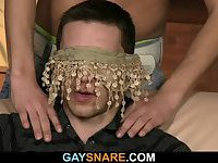 A gay surprise for hetero dude