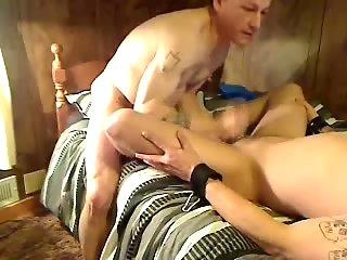 Amateur gay hard act