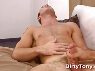 Wanking Gay Gets Handjob & Gives Blowjob