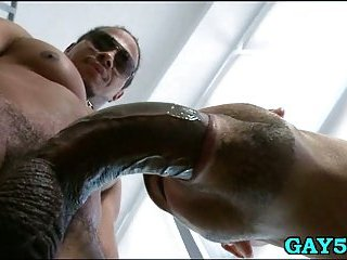 Buddy  gets ass stretched