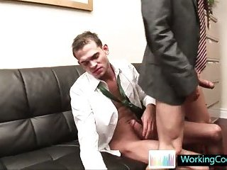 Fucking and sucking when the boss is away