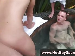 Tight straight bait ass takes hard cock