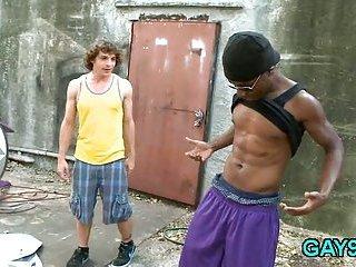 Hot interracial gay xxx