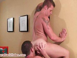 Travis Turner and Riles Clayton hardcore bareback