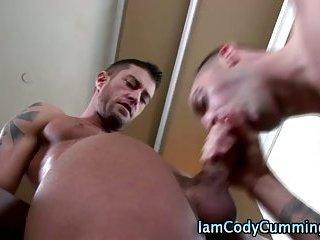 Pornstar Cody Cummings cock suck