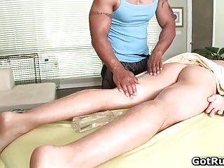 Erotic massage leads to amazing hot anal fucking