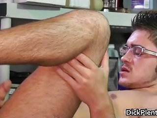 Horny cute sexy body nasty guy gives nice head and gets ass bang