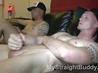 Lustful Gay Guys In Tats Wanking