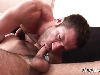 Guy has erection early in the morning 3