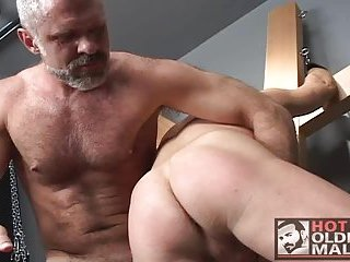 Naughty Mature Guys Fucking In Doggy Style