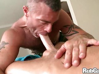Hot Guys Oral Sex During Massage