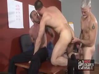 Hot Office Trio Fucking