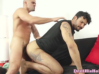 Jean Franko ass slams Damien Crosse