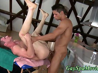 Sucked gay straighty rams ass
