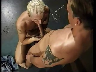 Gay ass licking and fucking