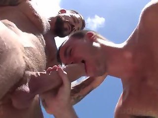 Doggy style outdoor