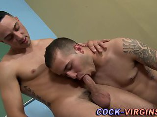 First time anal for jock