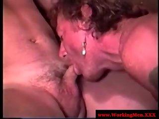 Horny Bears Sucking on Cam