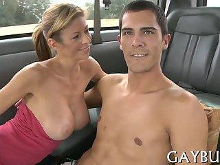 Cute gay boys having anal sex